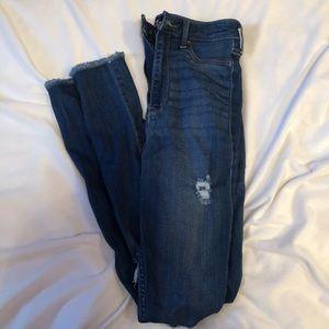 Hollister Ultra high rise jean leggings